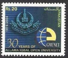 PAKISTAN 2004 Education, Allama Iqbal Open University Islamabad, 1v MNH