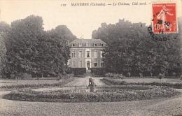 14 - MANERBE - Le Château, Côté Nord  1911 - France