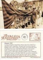 Postcard Beautiful Ankle Competition MARGATE 1932 Nostalgia Repro - Entertainment