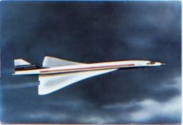 """Avion, """"Dans Le Ciel De France"""" Concorde, A Circulé En 1968, Au Dos Publicité Pour Les Farines Hilton Orly Guigoz - 1946-....: Moderne"""