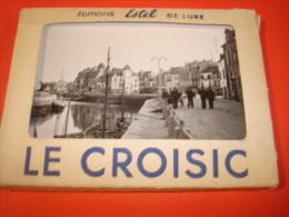 CARNET De LE CROISIC  DE 10 PHOTOS 9CM×6, 5CM   ESTEL DE LUXE   Date Année 1953 Parfait état - Le Croisic