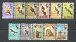 BECHUANALAND 1961 N° 119/126 130/132 ** Neufs = MNH  Superbes Cote 84,50 €  Faune Oiseaux Birds Fauna  Animaux - Bechuanaland (...-1966)