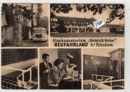 "CPM  GF - 14160- Allemagne  - Neufahrland -  Mutiviues Klinik Sanatorium "" Heinrich Heine""-Envoi Gratuit - Neu Fahrland"