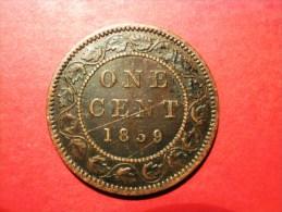 CANADA 1 Cent 1859 Victoria - Canada