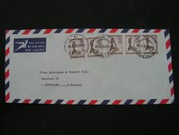 == South Africa Cv, To Stuttgart , MeF 1966 - Südafrika (1961-...)