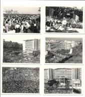 Voyage Du GENERAL DE GAULLE En ALGERIE LE 4 JUIN 1958 - Lot De 6 Vues - Ereignisse
