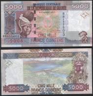 Guinea P 41 - 5000 5.000 Francs 2006 - UNC - Guinea