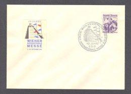 Österreich, Sonderstempel 1961, Wiener Internationale Messe 3.-10.9.1961 Wien - Poststempel - Freistempel