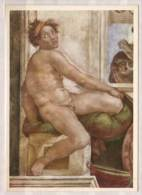 Michelangelo Buonarroti , Sklave , Fresko , Rom - Vatikanstadt , Sixtinische Kapelle - Kirchen U. Kathedralen
