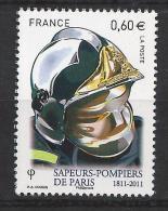 Timbre De Pompiers. (Voir Commentaires) - Firemen