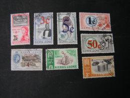 == Sierra Leone Lot 1963 - Sierra Leone (1961-...)