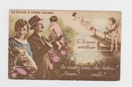 Militaria - Cecil 2032 LE CANON D´APRES GUERRE Ange Angelot  Canon Obus Bébé - En Voulez-vous Des Bébés ? Boum Voilà SID - Anges