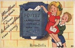 RIVA-BELLA(14) / SYSTEME / Carte Dépliant 10 Vues / Meilleurs Souvenir Dans La Boite Aux Lettre Vous Verrez Riva-Bella - Riva Bella