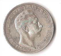 ALLEMAGNE  2 MARK   1903  ARGENT - Unclassified