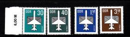 1982/84     PA       N°  8-9-10-13  NEUFS** - Service