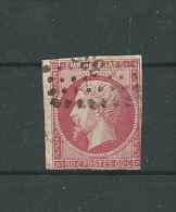 Frankreich, Mi 16, Gestempelt - 1853-1860 Napoléon III.