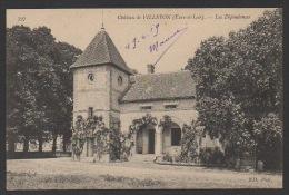 DF / 28 EURE ET LOIR / VILLEBON / LE CHÂTEAU / LES DEPENDANCES / ANNOTÉE EN 1919 - Autres Communes