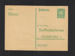Dt. Reich GSK Vordruck Kaffe Darboven Ungebraucht (3) - Deutschland