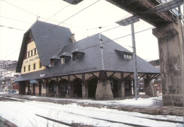 ESPAGNE : GERONE (GIRONA) Gare De La MOLINA En 2003 Détails Sur Le 2ème Scan - Stazioni Senza Treni