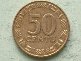 50 CENTU - 2000 / KM 108 ( For Grade, Please See Photo ) ! - Lituanie