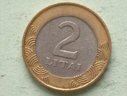 2 LITAI - 1999 / KM 112 ( For Grade, Please See Photo ) ! - Lituanie