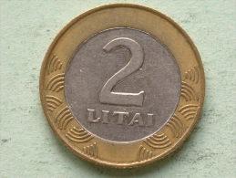2 LITAI - 1999 / KM 112 ( For Grade, Please See Photo ) ! - Lithuania