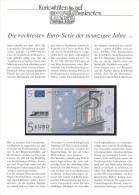 EURO - Test-Banknoten , Satz Von 5 - 500 EURO Bankfrisch - Big Letter, Dispatch = 7,70 € (registered) - EURO