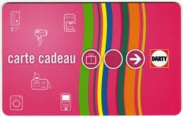 CARTE CADEAU, GESCHENKKARTE, GIFT CARD, DARTY - Gift Cards