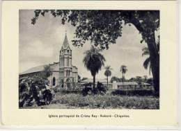 BOLIVIEN - ROBORÉ / Chiquitos: Iglesia Parroquial De Cristo Rey, B&W, RP - Bolivie