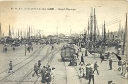 CPA BOULOGNE SUR MER - QUAI CHANZY - Boulogne Sur Mer
