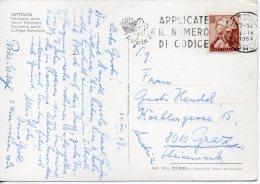 1967 Italia Italien Italy Postcard Vg CATTOLICA X AUSTRIA 2scans Cartolina Ak £55 Mich - 6. 1946-.. Repubblica
