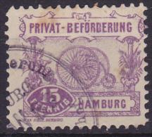 PRIVAT BEFÖRDERUNG HAMBURG 1888 TRICYCLE - Wielrennen