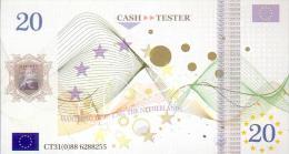 Testgeld  Testnoten Test Note 20 Euro  CASH - TEST ! - Sonstige