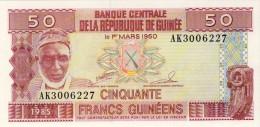 BILLET # GUINEE # 1985 # 50 FRANCS GUINEENS  # PICK 29 # NEUF # - Guinée