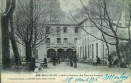 66 AMELIE-les-BAINS Café Et Terrasse Des Thermes Romains - Francia