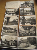 Serie Van 9 Oude Fotokaarten Caracas Coutry Club, Met Enveloppe, Venezuela - Venezuela
