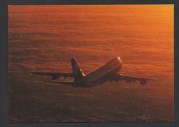 DF / TRANSPORTS / AVIONS / UN BOEING B 747  DE LA COMPAGNIE LUFTHANSA - 1946-....: Ere Moderne