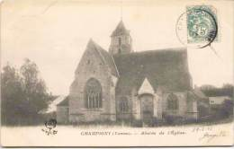 CHAMPIGNY (Yonne) - Abside De L'Eglise - Champigny
