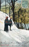 Canada - Out For A Tramp - Marche En Raquette Sur Le Mont Royal - Bonnets Rouges - Canada