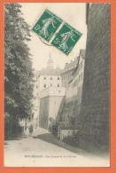 HC859, Montbéliard, Remparts Du Château, Circulée 1910 - Montbéliard