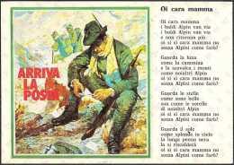 ALPINI - ARRIVA LA POSTA - 60° ANNIVERSARIO FONDAZIONE SEZIONE ALPINI BRIANZA - MONZA - 08-04-1989 - Reggimenti