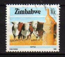 ZIMBABWE - 1985 YT 87 USED - Zimbabwe (1980-...)