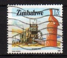 ZIMBABWE - 1985 YT 89 USED - Zimbabwe (1980-...)
