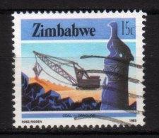 ZIMBABWE - 1985 YT 91 USED - Zimbabwe (1980-...)