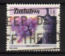 ZIMBABWE - 1985 YT 92 USED - Zimbabwe (1980-...)