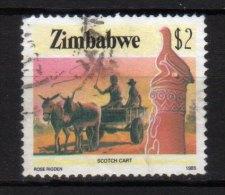 ZIMBABWE - 1985 YT 103 USED - Zimbabwe (1980-...)