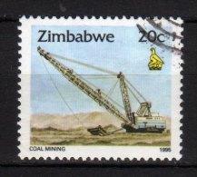 ZIMBABWE - 1995 YT 318 USED - Zimbabwe (1980-...)