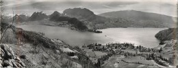 Annecy 74 Haute Savoie Talloires  Duingt  Bateau Double Carte - Annecy