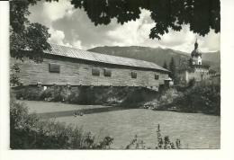 Ilanz   Holzbrucke Uber Den Rhein  ( Tache ) - GR Grisons