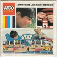 LEGO SYSTEM - CATALOGUE - L´ASSORTIMENT LEGO - DE LEGO SORTERING - 1968. - Catalogs